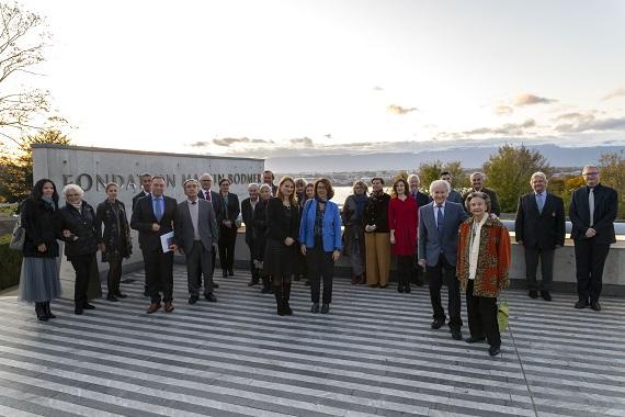 Manifestation pour les 50 ans du fonds Konstantin et Zinovia Katzarovi Genève